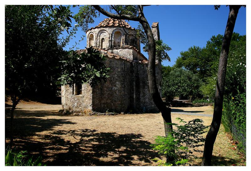 Ältestes Kloster auf Rhodos
