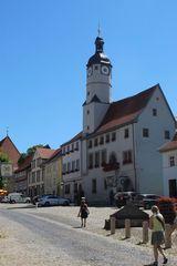 ältestes Rathaus Thüringens in Weissensee