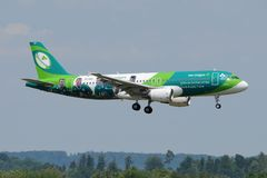 Aer Lingus A 320 Rugby EI- DEO