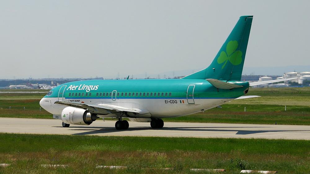 Aer Lingus rollt zum Start