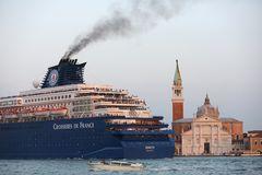 Ärger um die Kreuzfahrtschiffe in Venedig