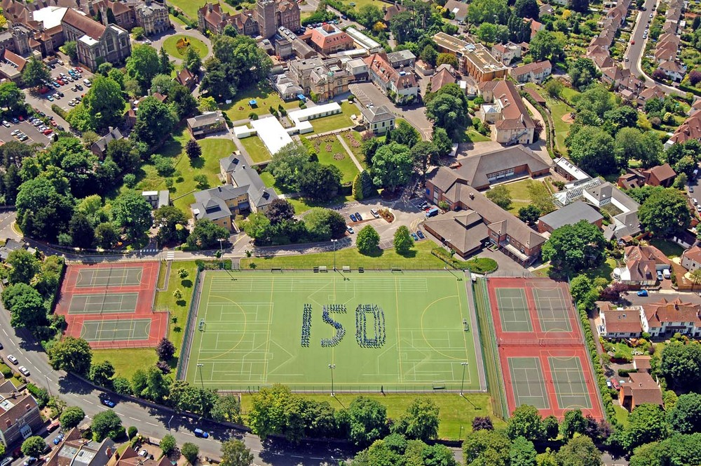 Aerial image of Private Girls School