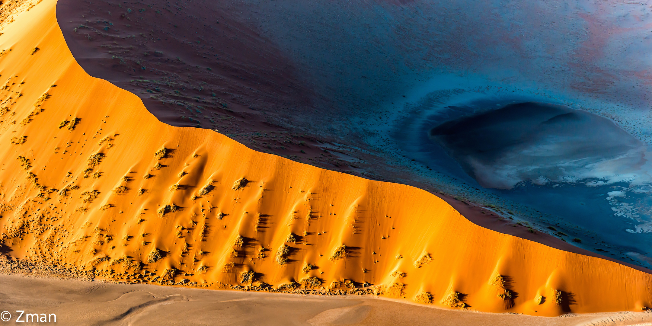 Aerial View of The Dune and Desert 04