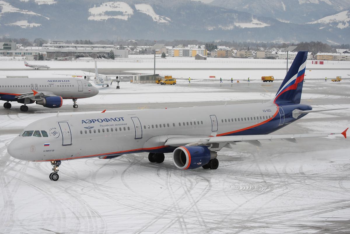 Aeroflot A320 und A321
