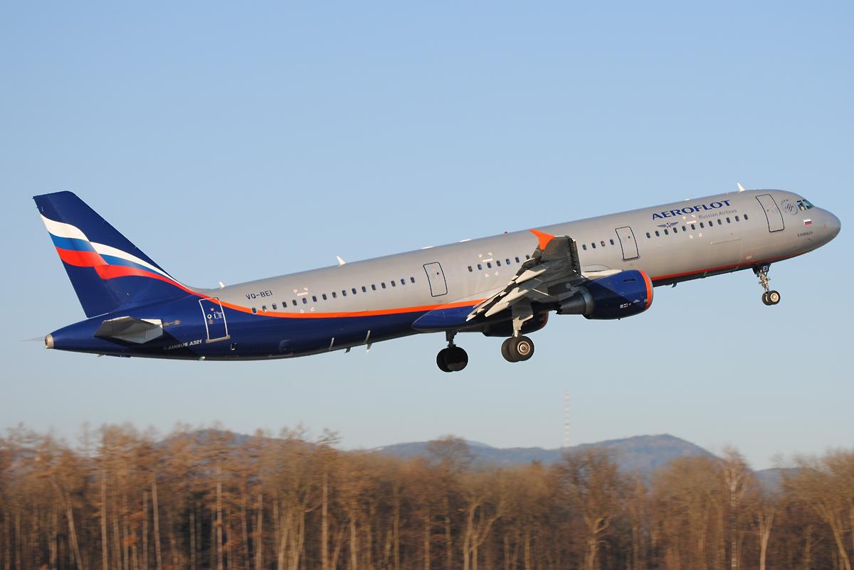Aeroflot Airbus 321