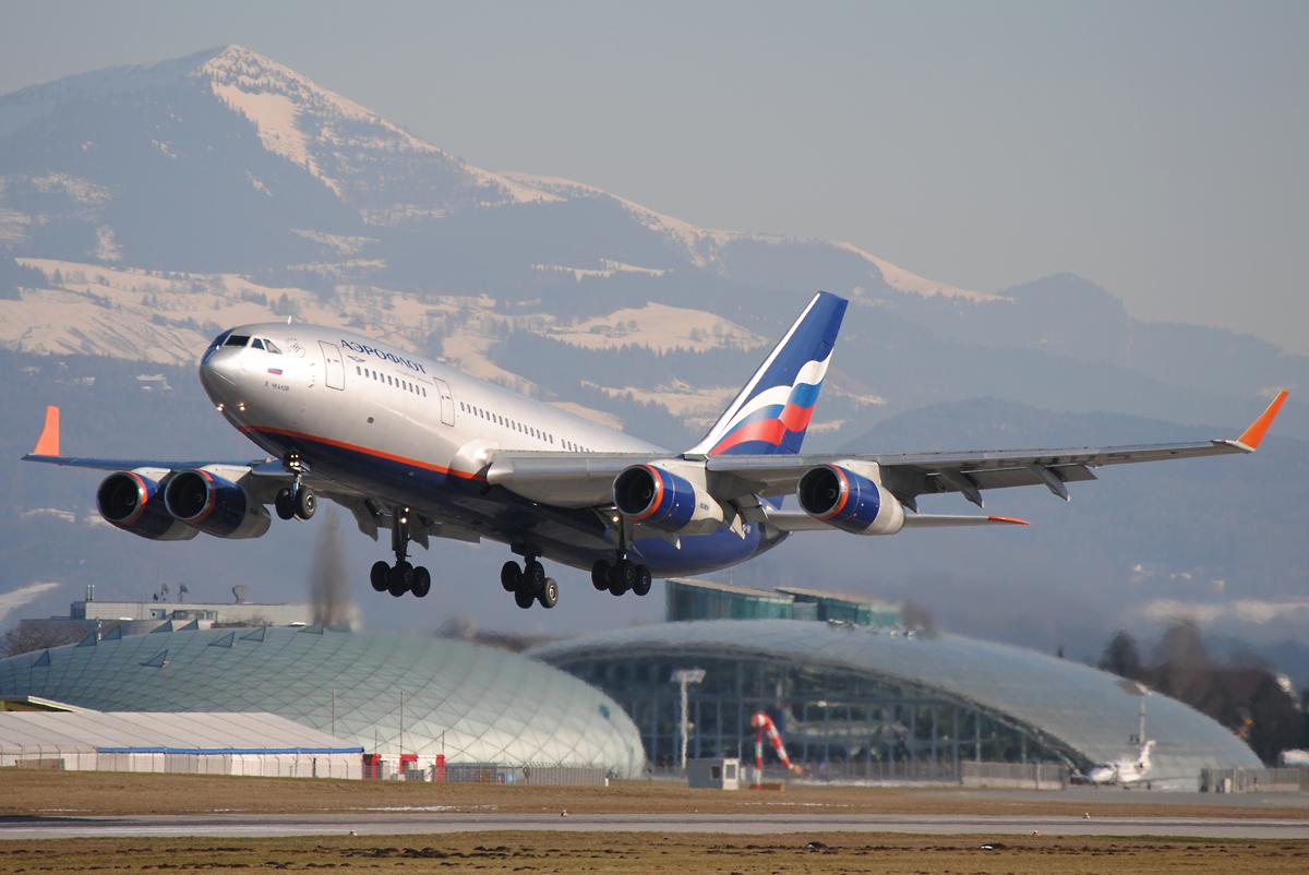 Aeroflot Ilyushin IL-96-300