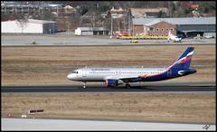 Aeroflot in SXF BERLIN