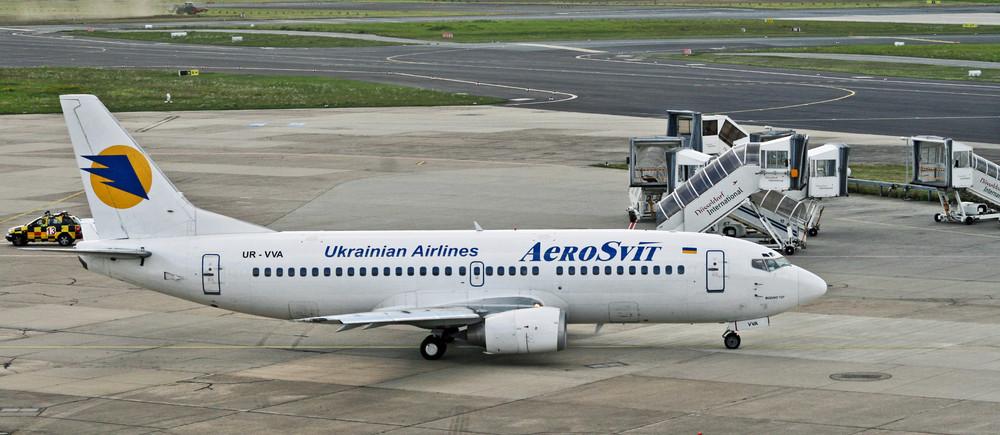 Aeroswit aus der Ukraine ..