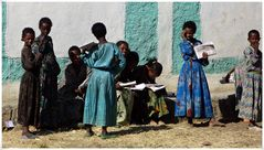 äthiopische Mädchen.............