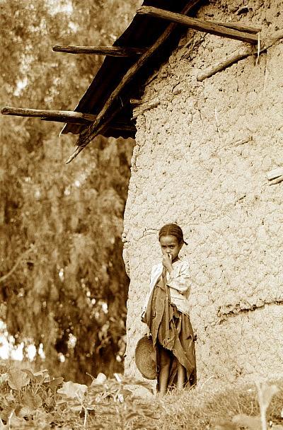 Äthiopisches Mädchen 8