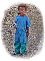 äthiopisches Mädchen...................