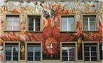 Fassade am Sternenplatz von Frank Mühlberg