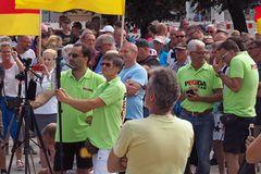 AFD Kundgebung und Gegendemo in Warnemünde (2)