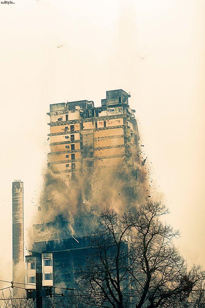 AfE-Turm down