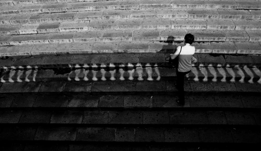 affaccio su scalinata