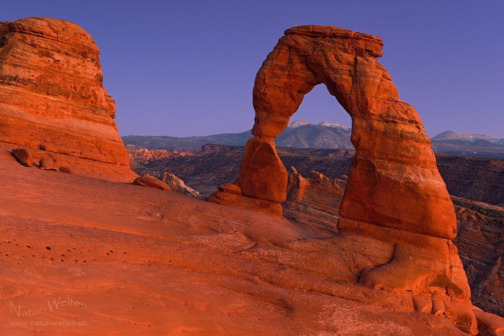Affentheater am Delicate Arch