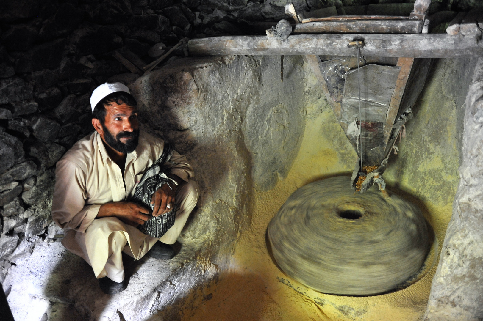 Afghan flourmill