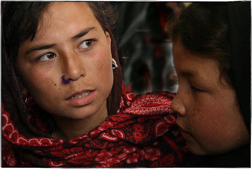 Afghan girls.....