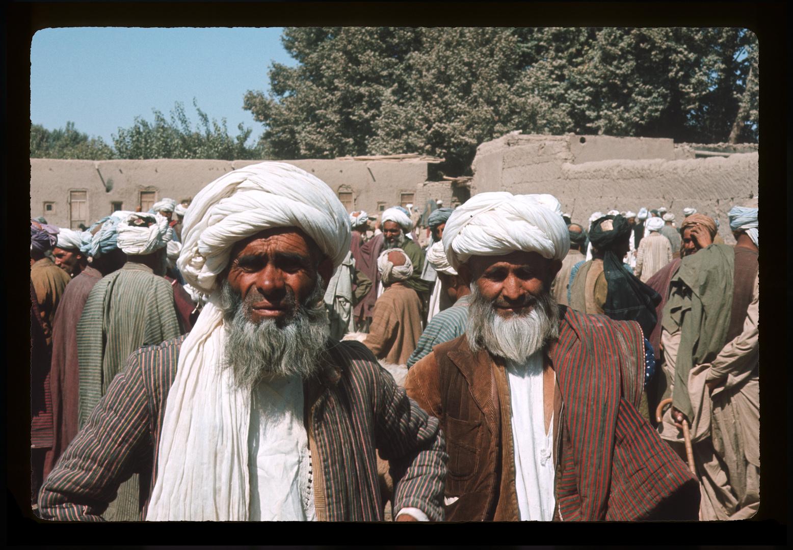 Afghanistan 1965 - Menschen in Taluquan