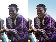 African Dance - vorher/nachher
