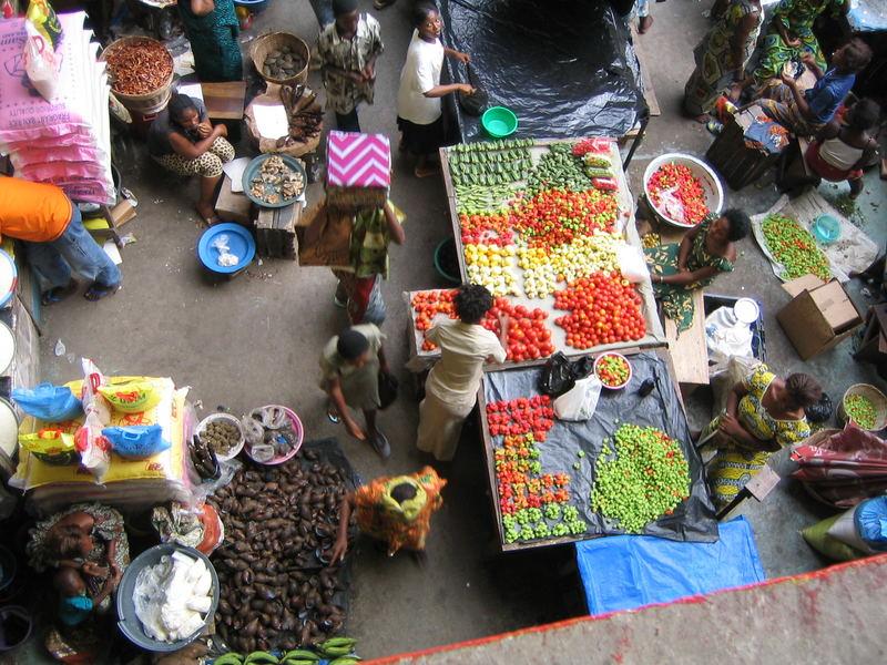 African Market, Cote d'Ivoire
