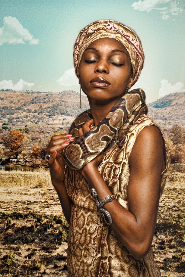 African snake