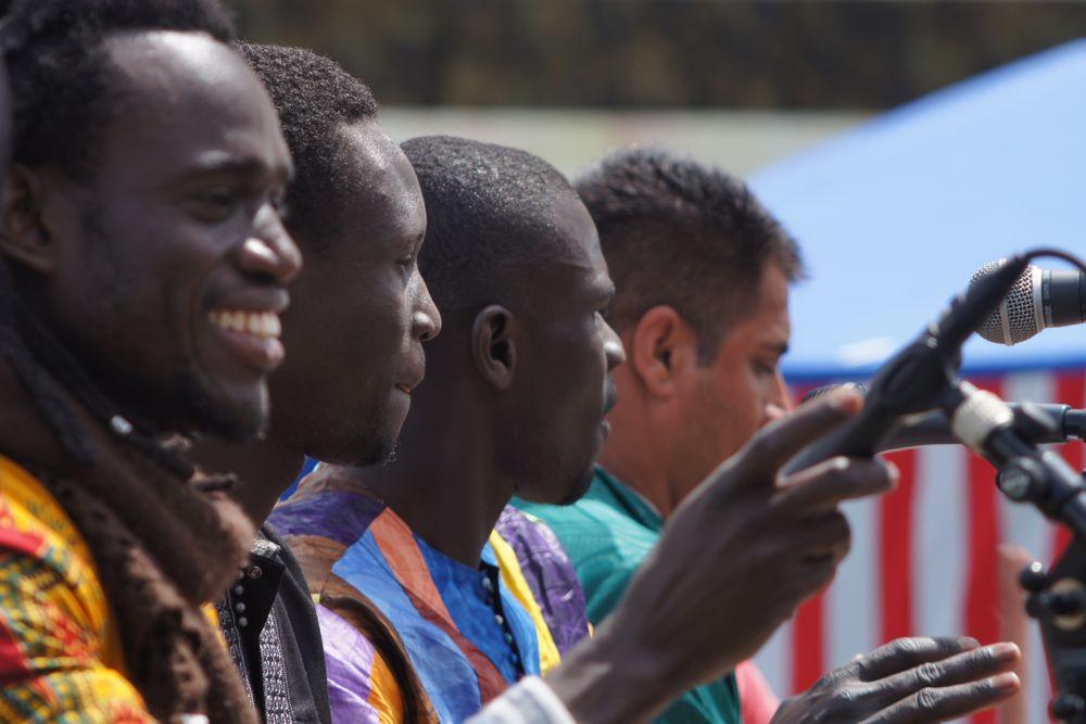 Afrikanische Gesangsgruppe