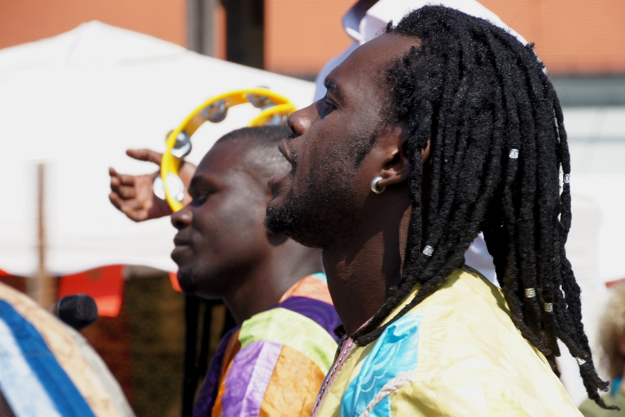 Afrikanischer Gesang 1
