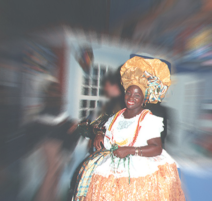 Afro-brazilian woman