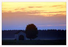 After Sundown - Blaue Stunde mit Nebel