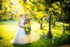 After Wedding Shooting zwischen Obstbäumen