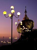 Afterglow am Golden Rock