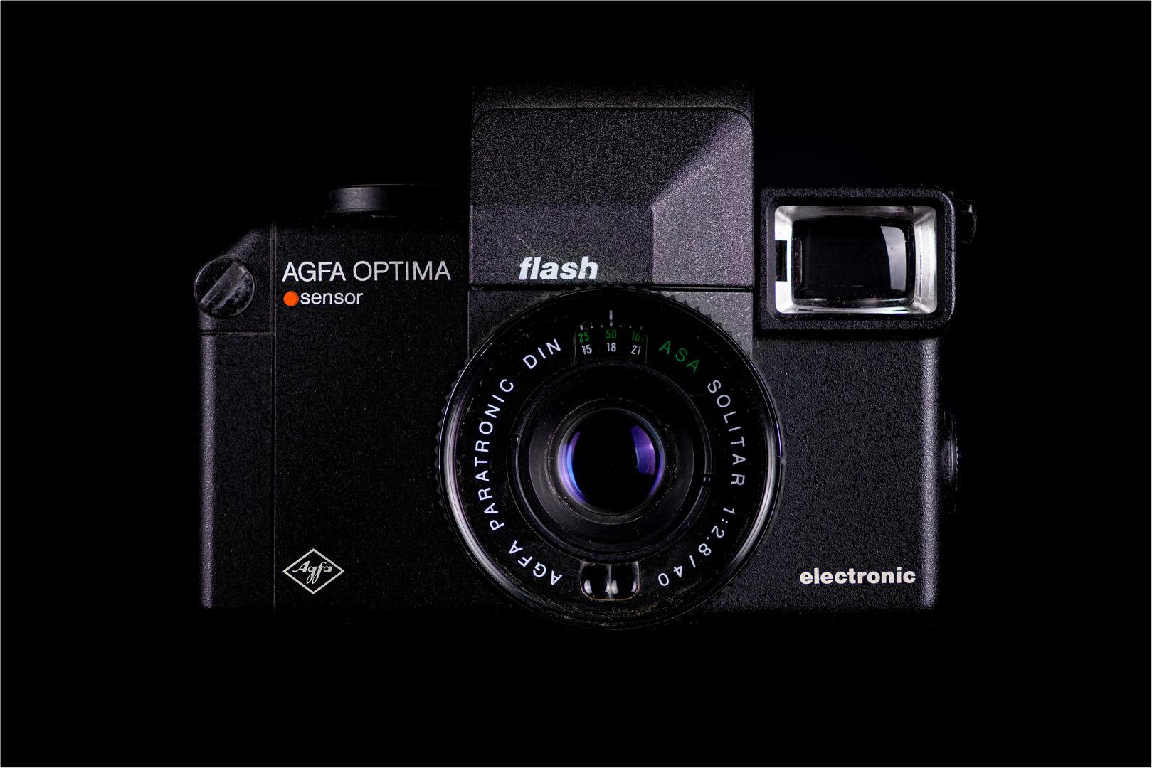 AGFA Optima Sensor electronic flash