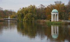 agra-Park Leipzig im Herbstgewand