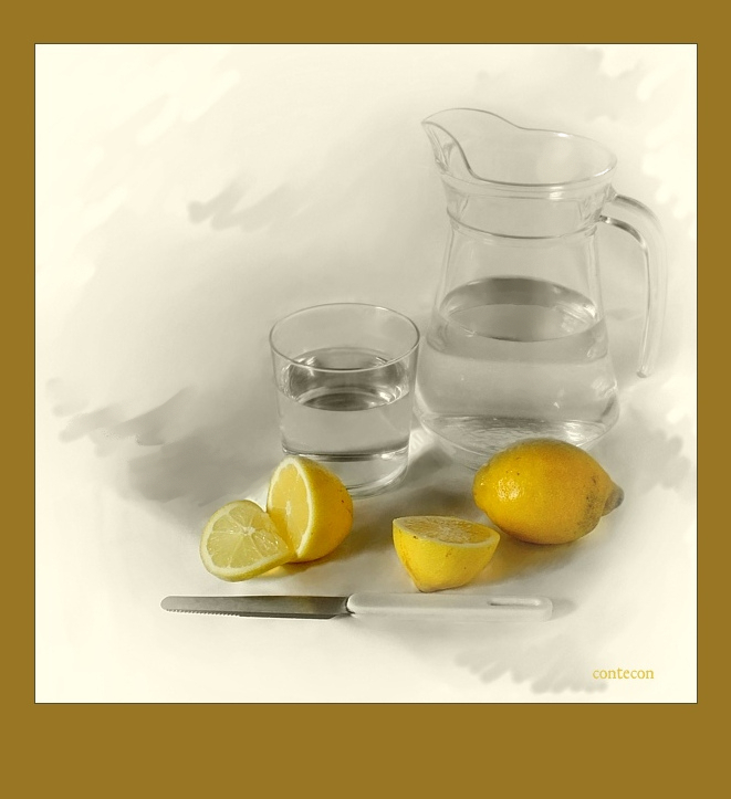 agua y limon