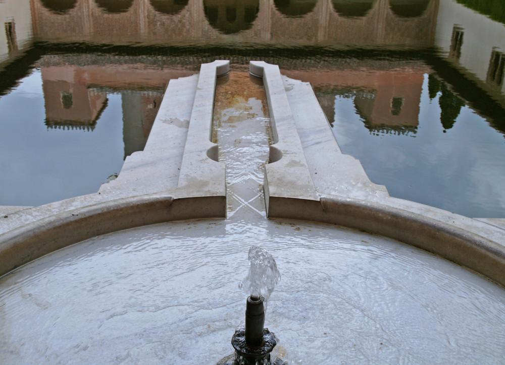 agua y reflejos