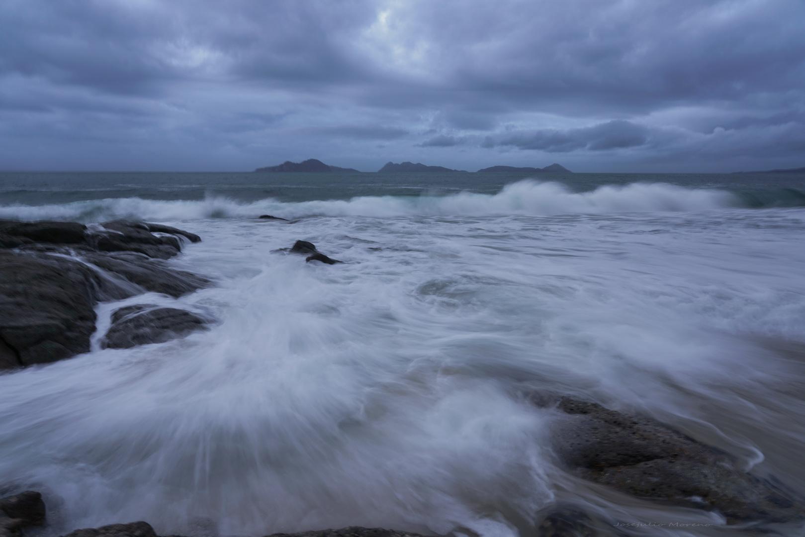 agua y seda, Saians (Pontevedra)