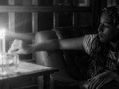 Agustina a la luz de la vela