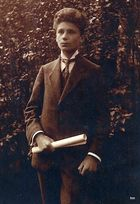 Ahnengalerie -4- Johannes Georg M. als Kriegsabiturient 1918