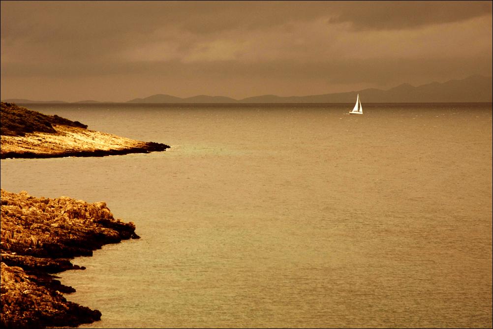 Ahoi auf dem Adriatischen Meer
