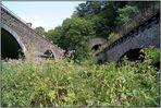 Ahrbrücken und Tunnelportal bei Schuld (Ahr)