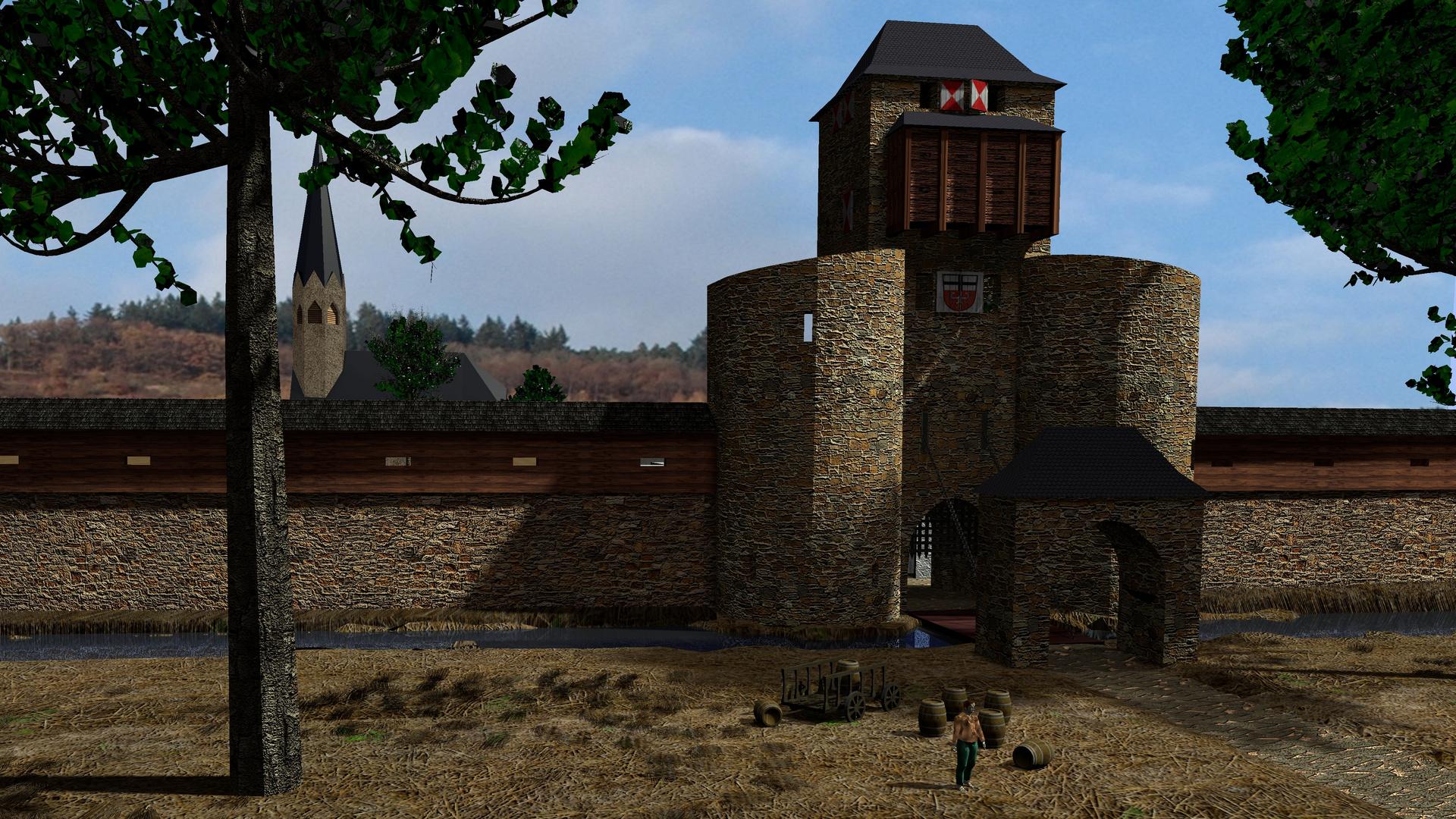 Ahrweiler Ahrtor Teil4