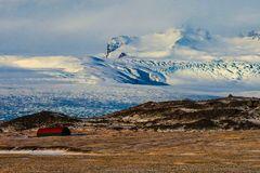 Ai piedi del Vatnajökull
