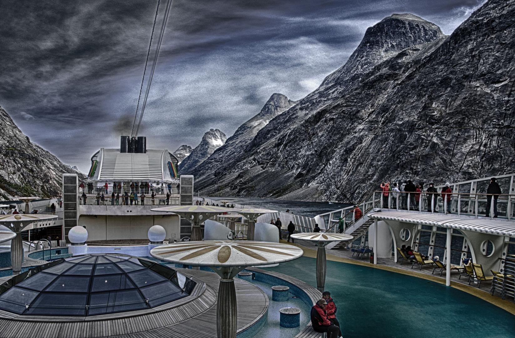 Aida Bella in Grönland