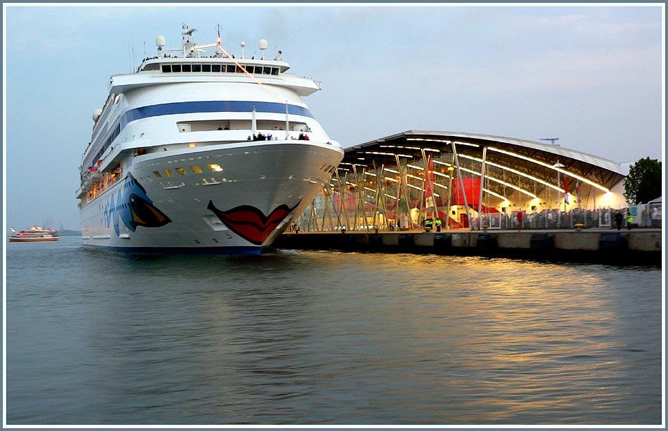 AIDA cara eröffnet das Cruise Center