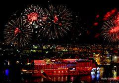AIDA Feuerwerk