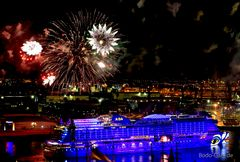 AIDA Feuerwerk in allen Farben