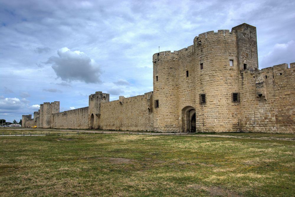 Aigues-Mortes Stadtmauer