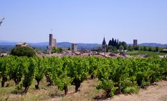 Aiguèze, un des plus beaux villages de France ... Gard