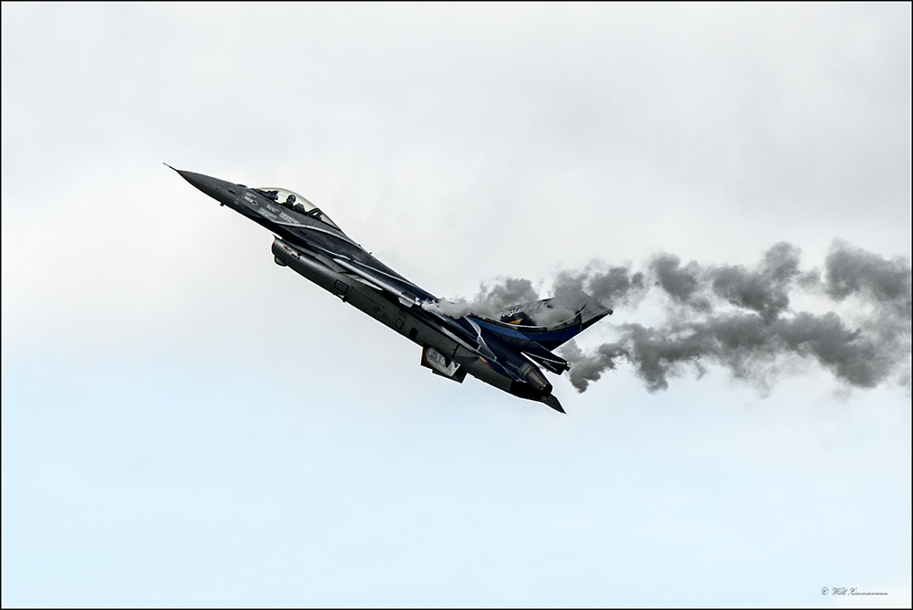 Air 14-  F-16AM Flighting Falcon  Belgium - Air Force